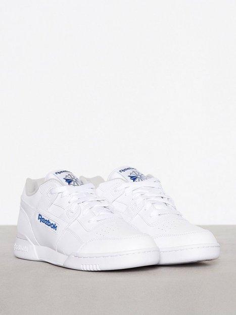 Reebok Classics Workout Plus Sneakers tekstilsko White Royal - herre