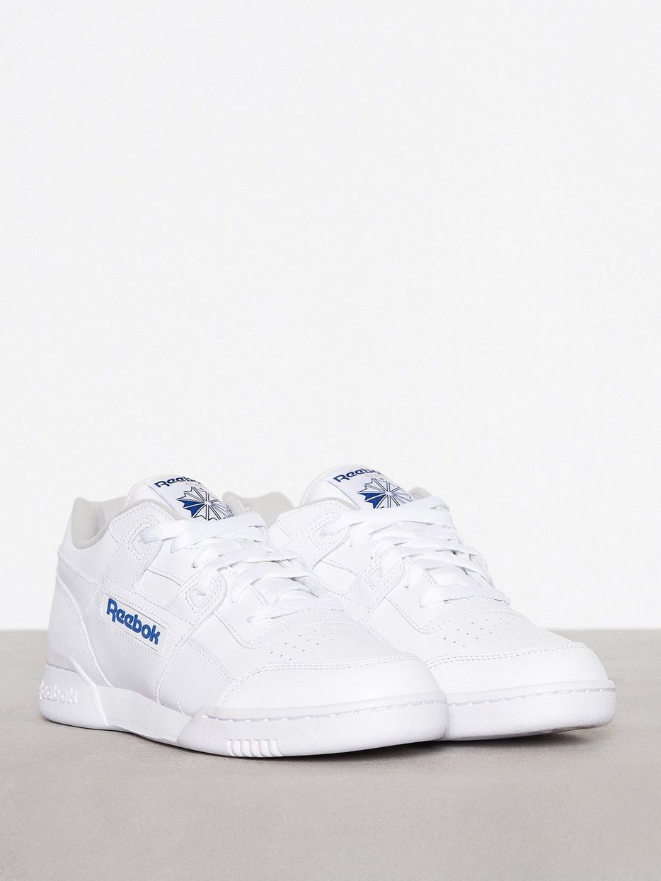 e062b87bf25874 Workout Plus - Reebok Classics - White Royal - Sneakers And Textile ...