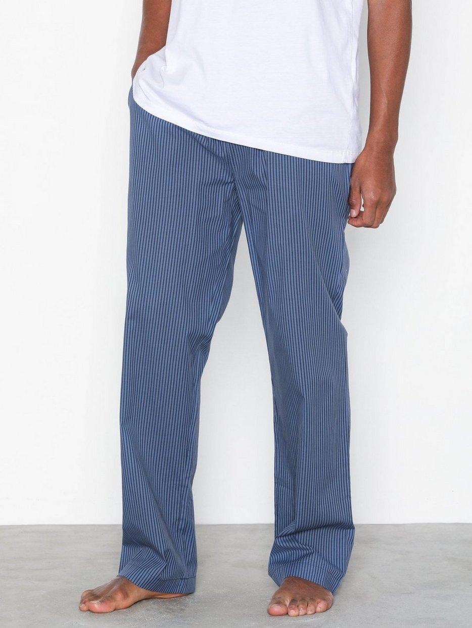Pajama Pants Blue Stripe Gant Blue Nachtwäsche Unterwäsche