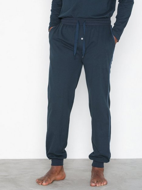 Gant Pajama Pants Ctn Jersey Nattøj Navy - herre