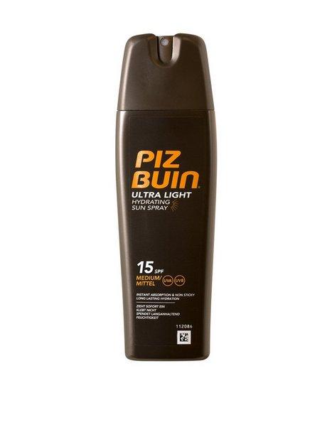 Piz Buin Ultra Light Hydrating Spray SPF15 200 ml Solprodukter Transparent mand køb billigt