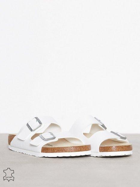 Birkenstock Arizona Sandaler flip flops Hvid mand køb billigt