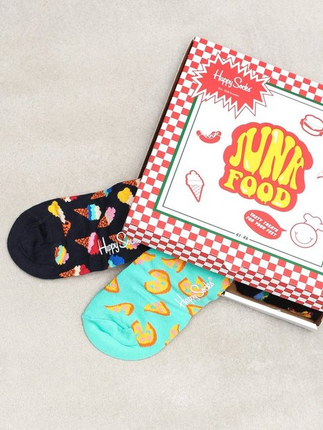 Happy Socks Junkfood Gift Box Strømper Multicolor - herre
