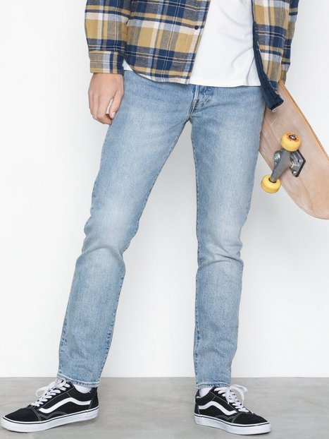 Levis J Timberlake 501 Hillman Jeans Indigo - herre