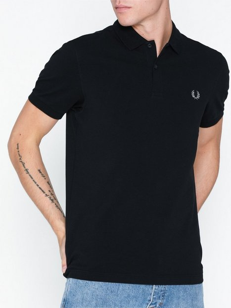 Fred Perry Plain FP Shirt Polotrøjer Black Chrome - herre