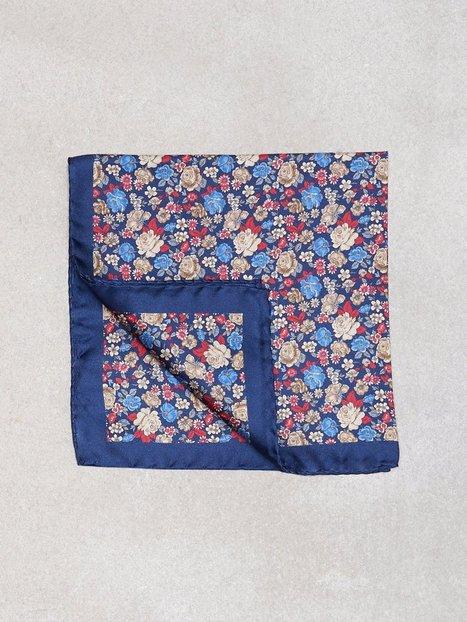 Amanda Christensen Printed Pocket Lommetørklæder Navy - herre
