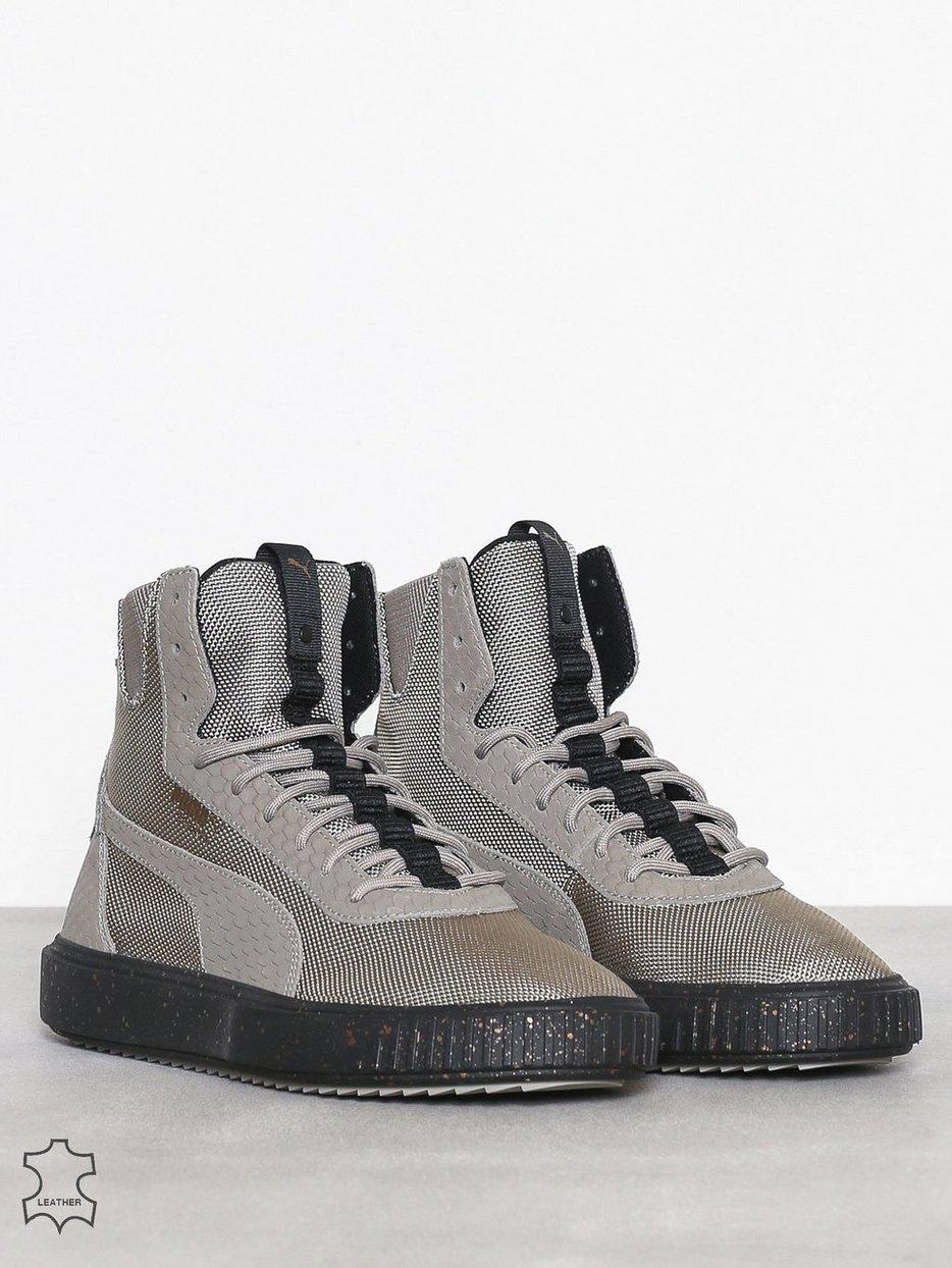 a8d5781bc1ac Puma Breaker Hi Blocked - Puma - Grey - Sneakers And Textile Shoes ...