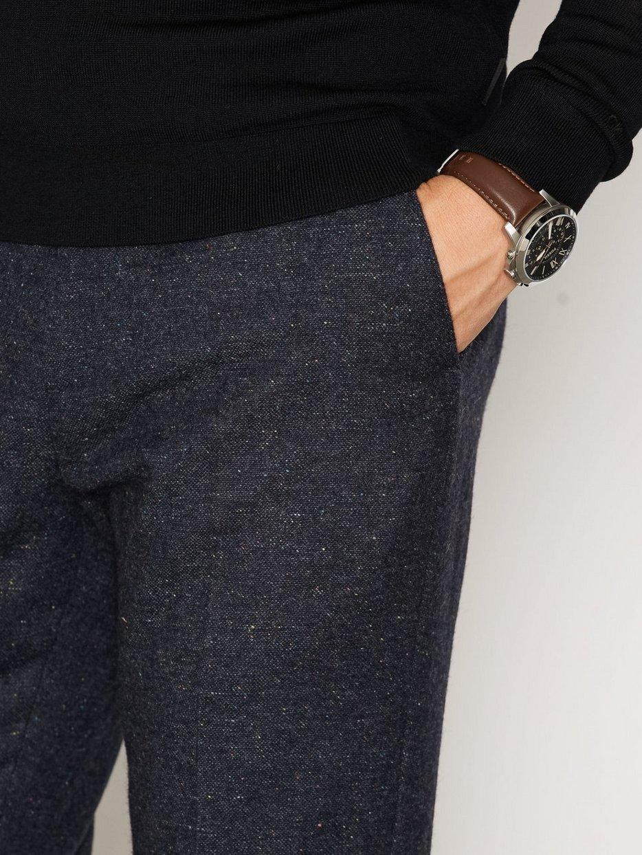Slim Fit Tweed Trouser