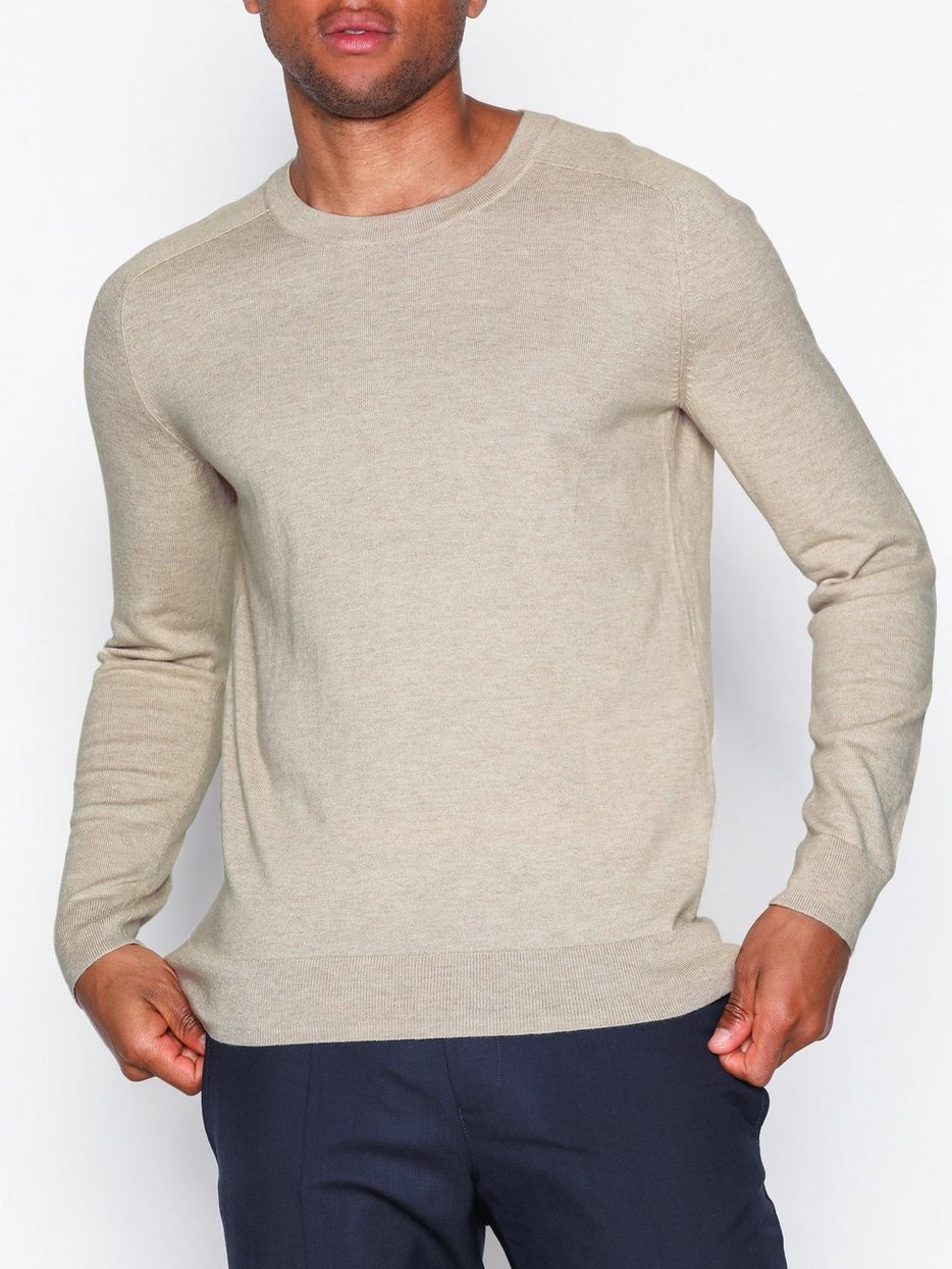 M. Cotton Merino Sweater