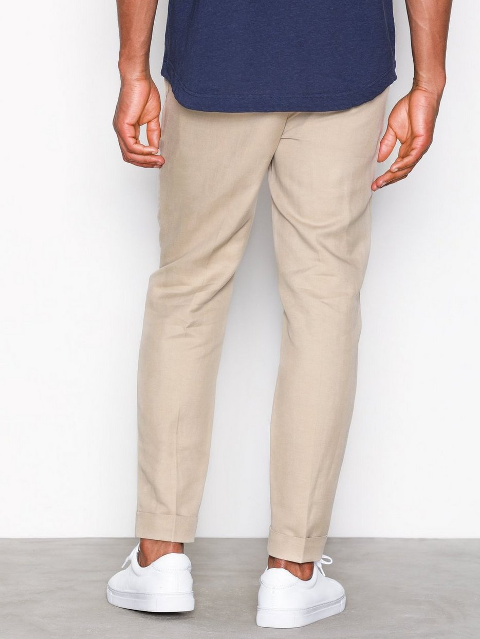 M. Terry Cropped Linen S