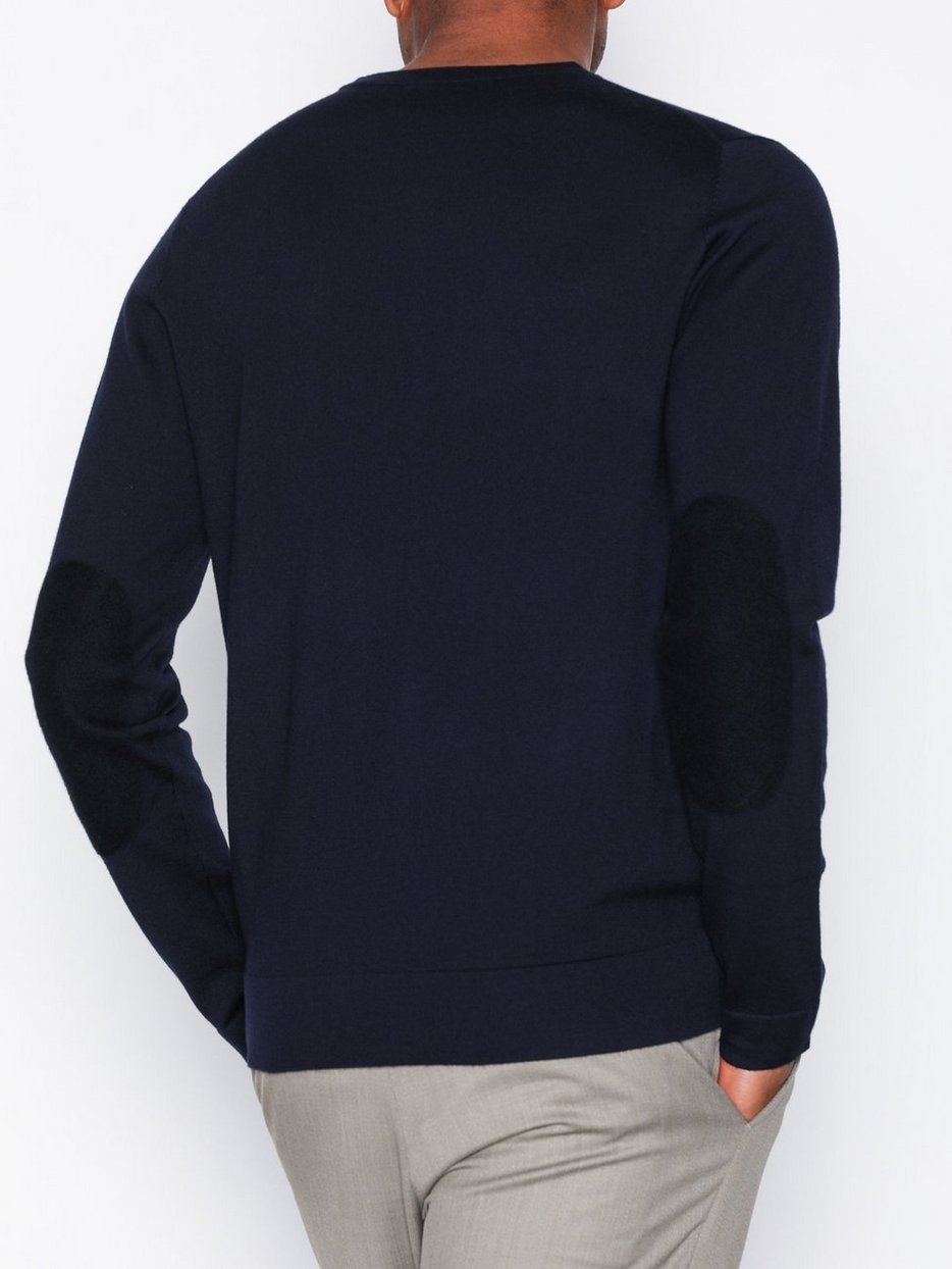 M. Patched Fine Merino R