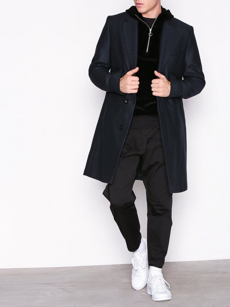 M. Ross Herringbone Coat
