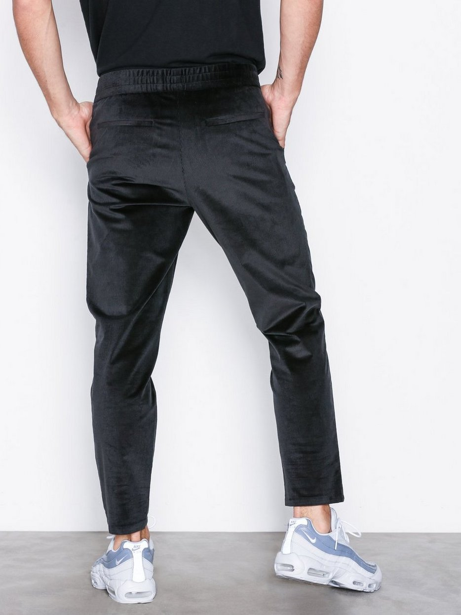 M. Terry Cropped Corduroy Trousers