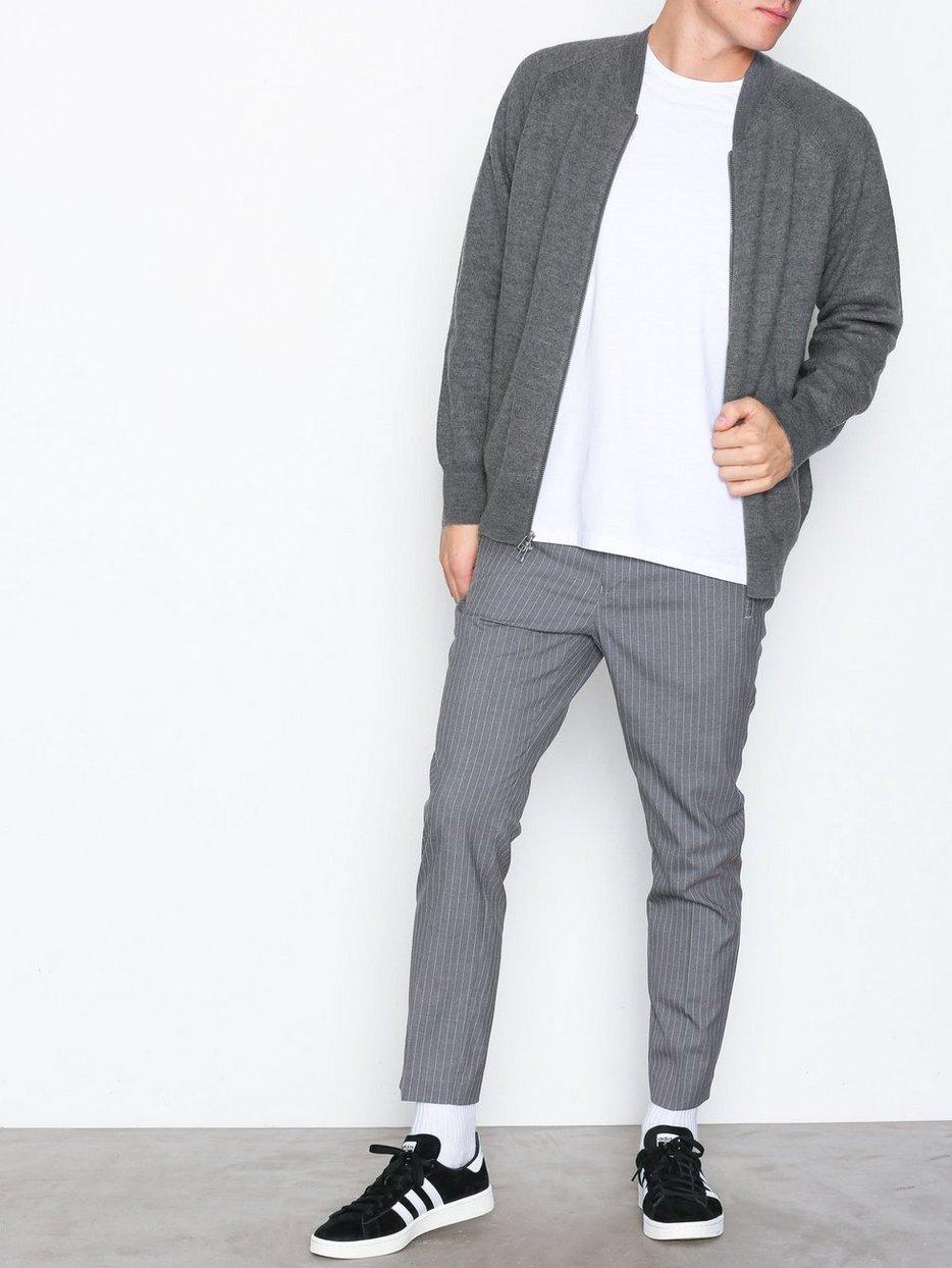 M. Boiled Wool Zip Jacket