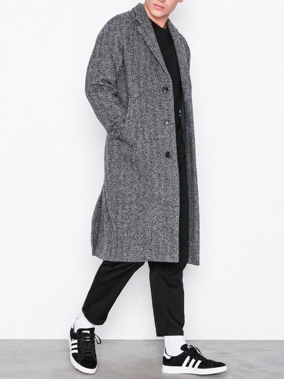 M. Luke Herringbone Coat