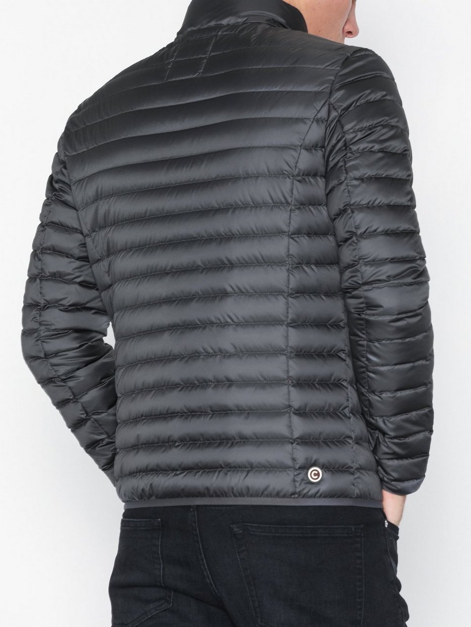 LIGHT DOWN JACKET WITH INSULATED COLLAR