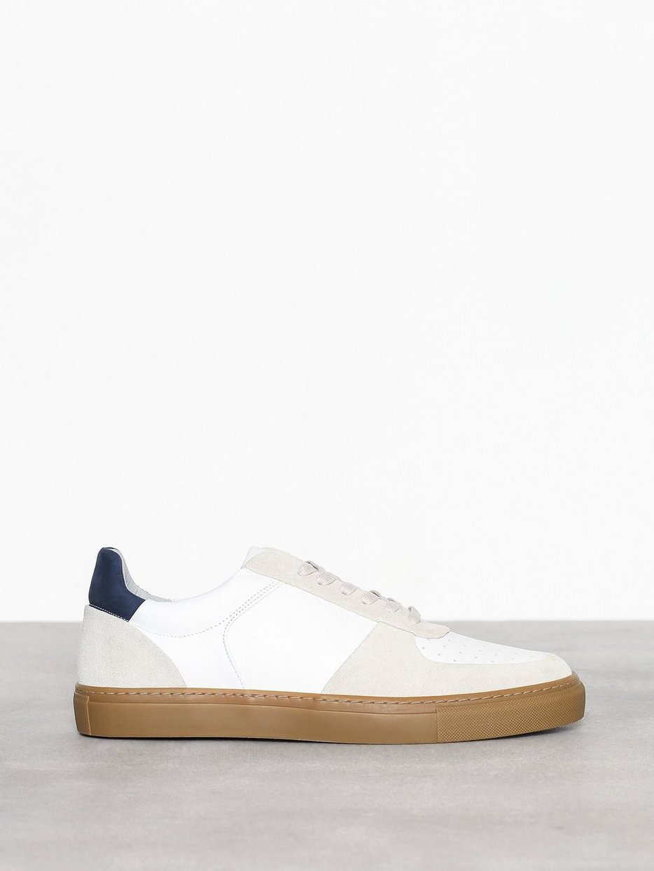 M. Robert Low Mix Sneaker