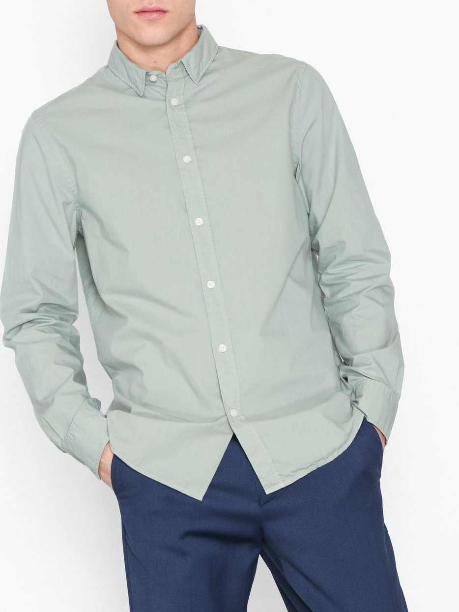 M. Ben Washed Poplin Shirt