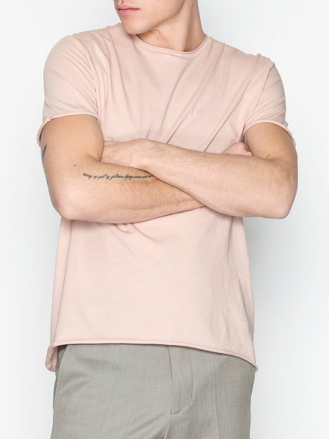 Filippa K M. Roll Neck Tee T shirts toppe Dusty Pink