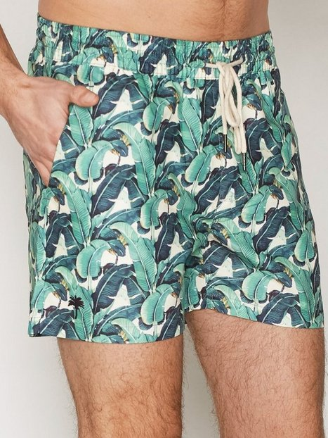 OAS Banana Leaf Badetøj Mønstret - herre