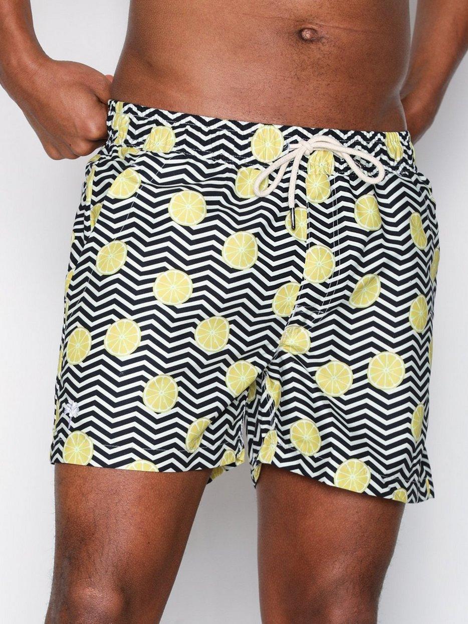 b5df909a7d Black Lemon - Oas - Lemon - Swim Shorts - Swimwear - Men - NlyMan.com