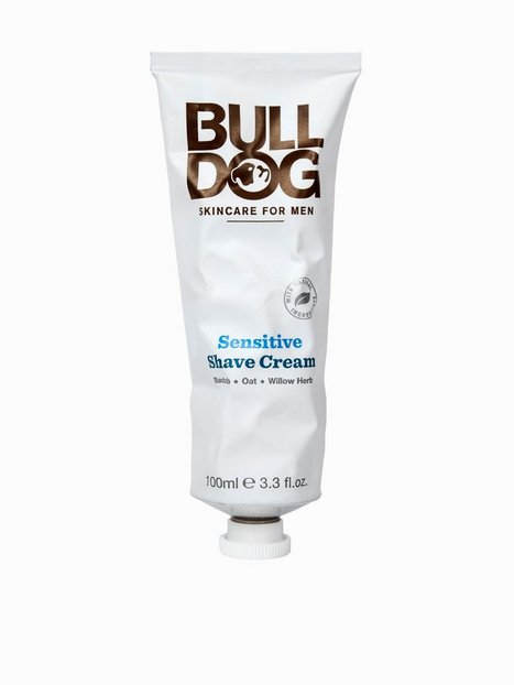 Bulldog Sensitive Shave Cream Barbering Hvid - herre