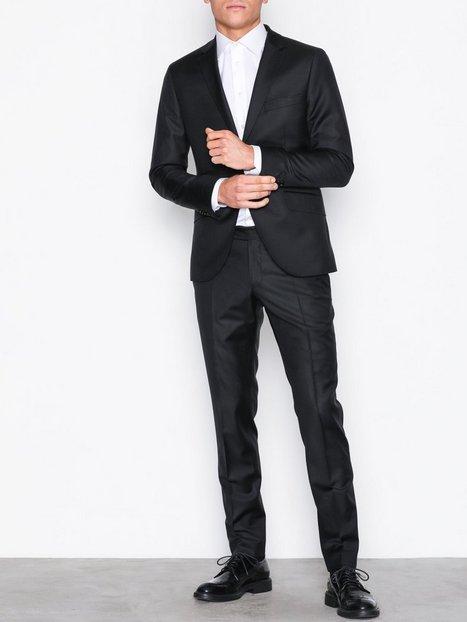 Morris Morris Suit Blazere jakkesæt Black mand køb billigt