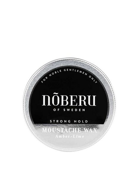 Nõberu Of Sweden Moustache Wax Amber Lime Strong Hold Barbering Amber - herre