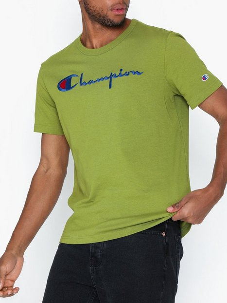 Champion Crewneck T Shirt T shirts undertrøjer Green - herre
