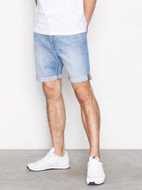 Lee Jeans Rider Short Shorts Denim mand køb billigt