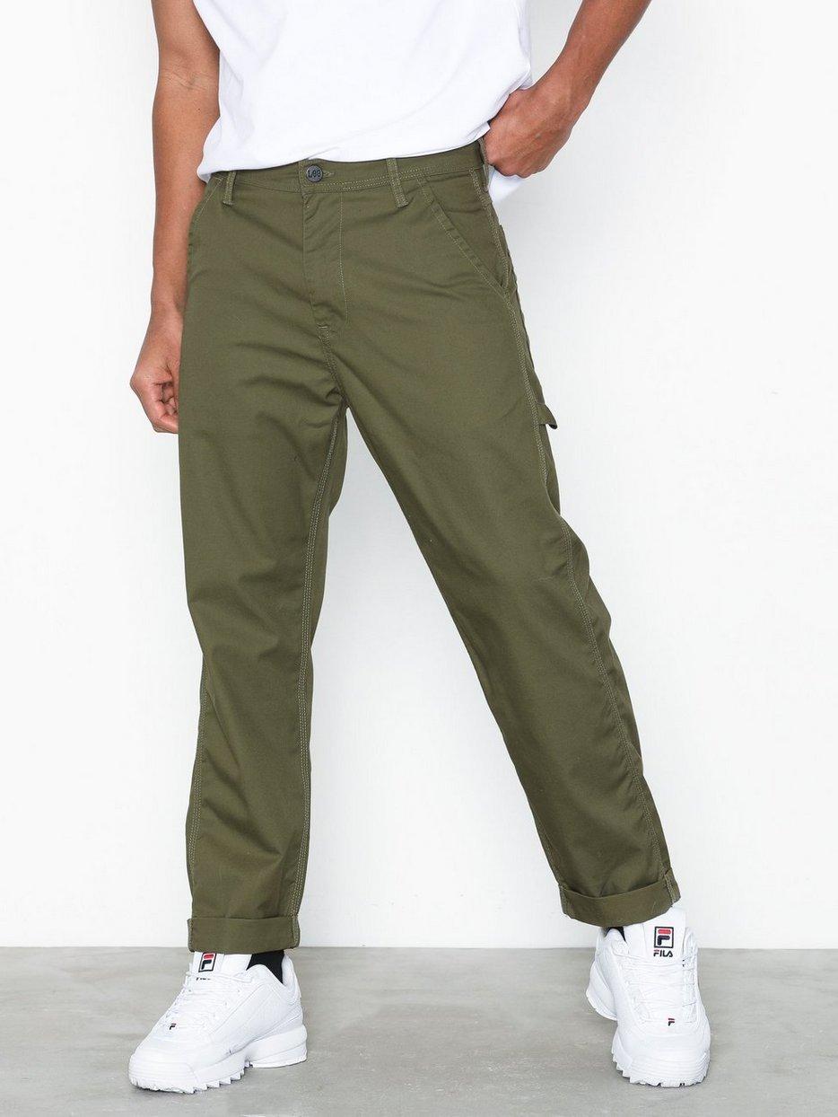 33601a6a Carpenter Olive - Lee Jeans - Green - Pants - Clothing - Men ...