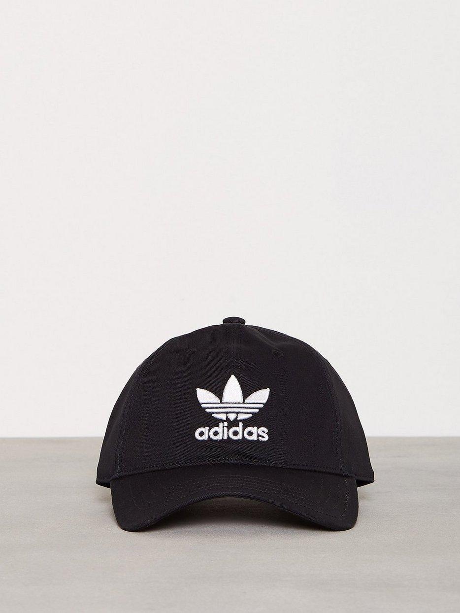 9e095c3b9b4 Trefoil Cap - Adidas Originals - Black - Caps - Accessories - Men ...