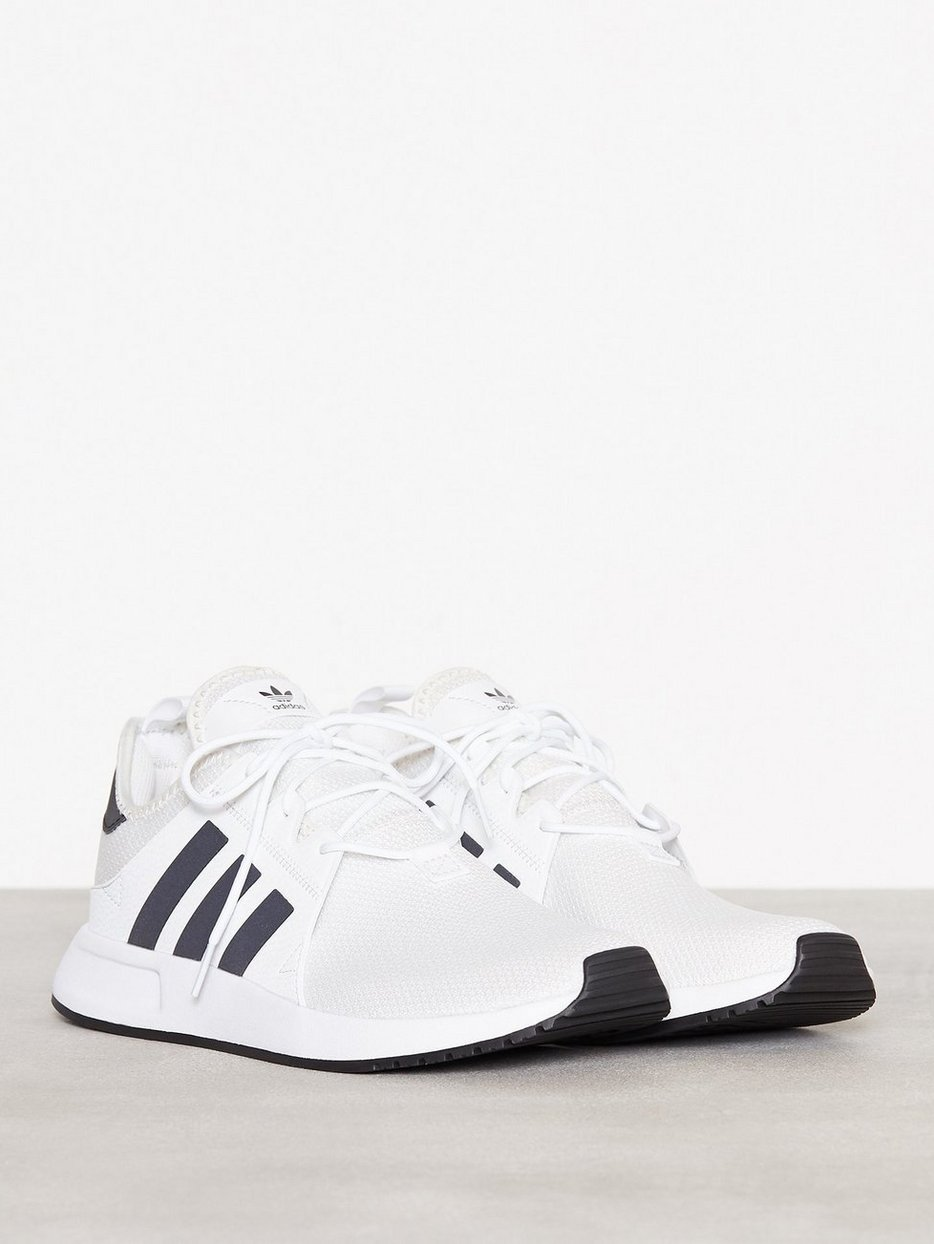 new arrival edb7e e0a73 X Plr - Adidas Originals - White Black - Sneakers And Textile Shoes ...