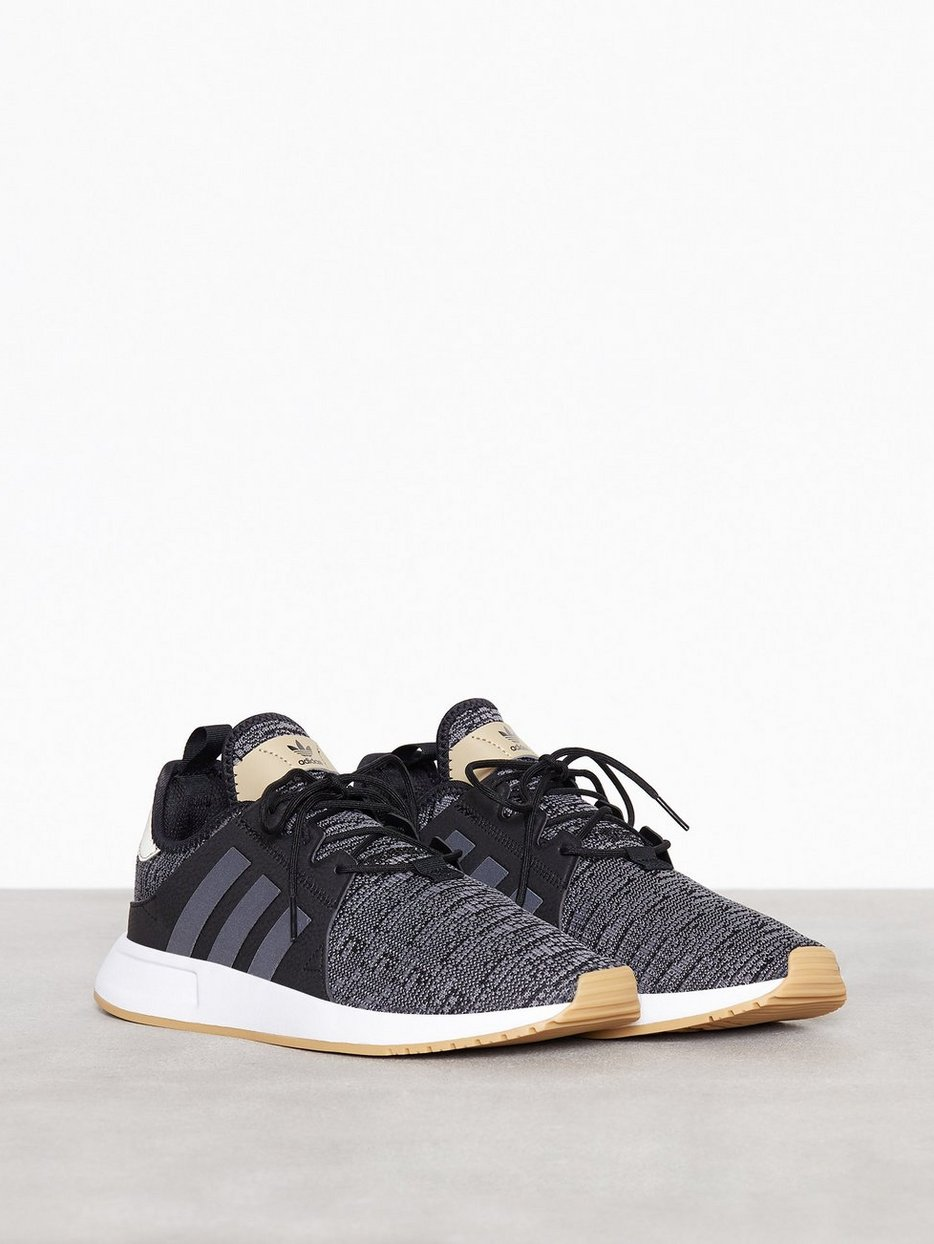 X Plr Adidas Originals Black Gold Sneakers And Textile Shoes