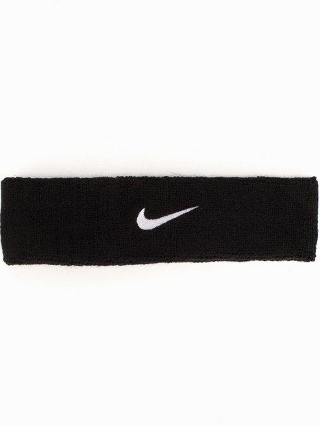 Nike Swoosh Headband Träningstillbehör Svart