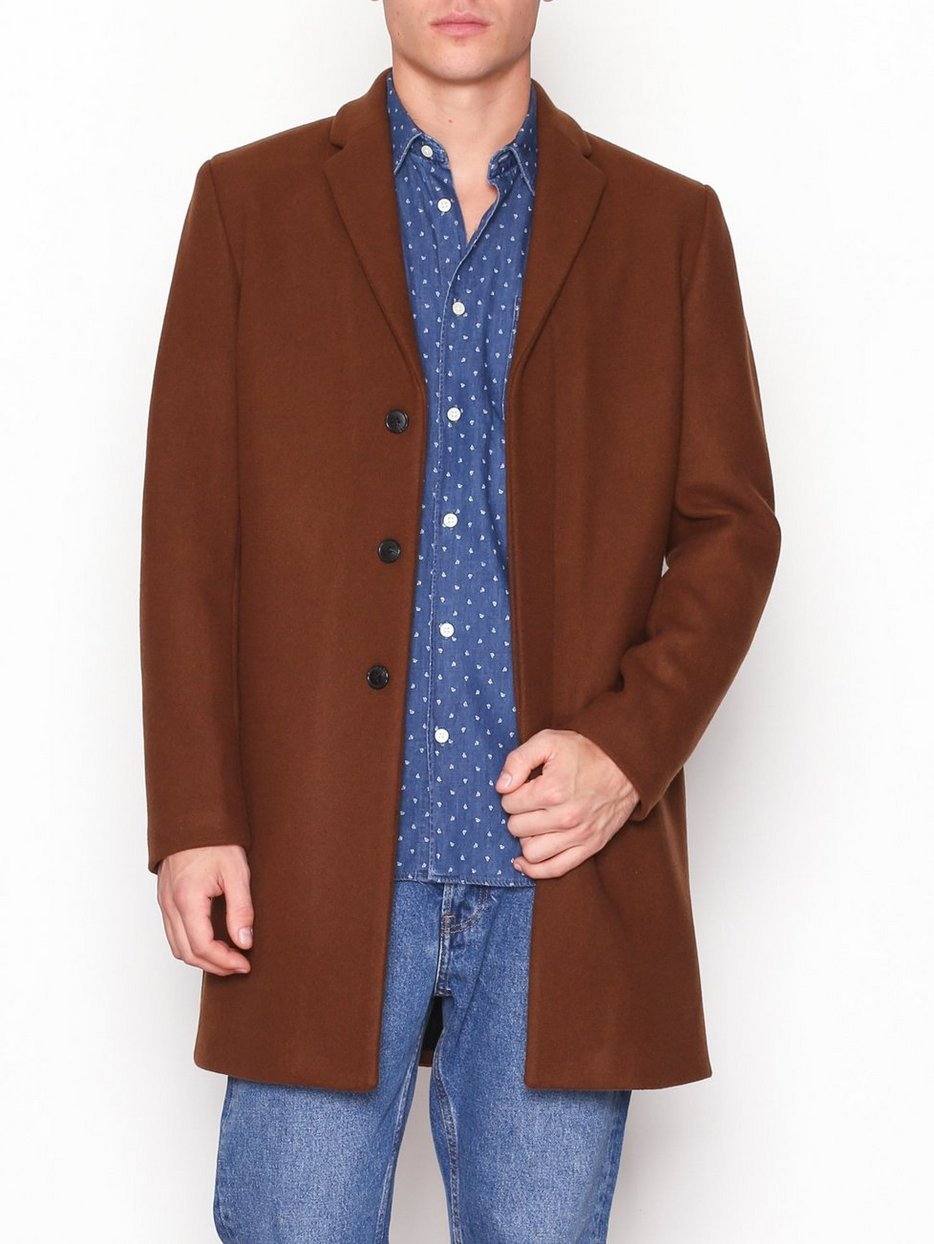 SLHBROVE WOOL COAT B