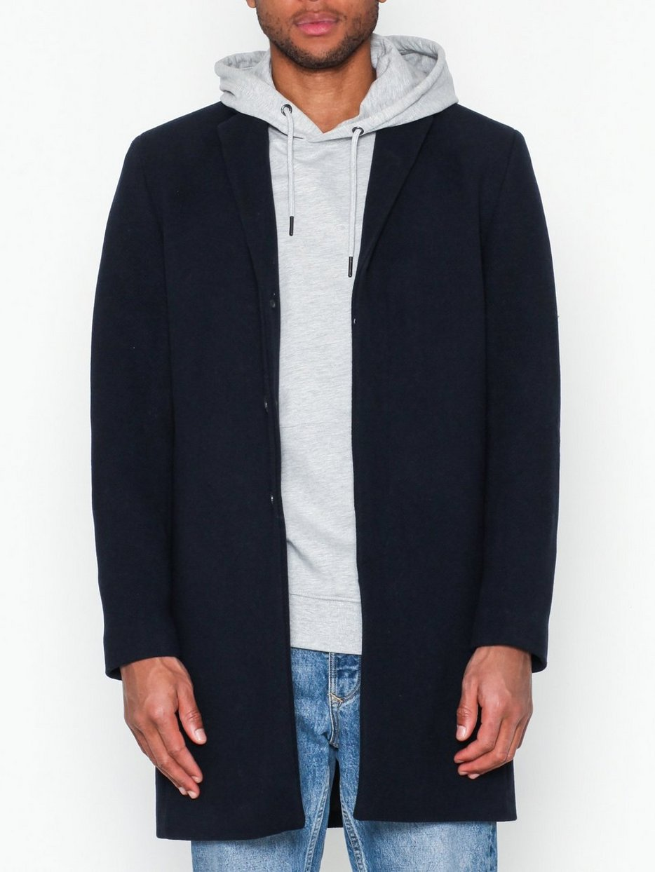 SLHBROVE WOOL COAT B NOOS