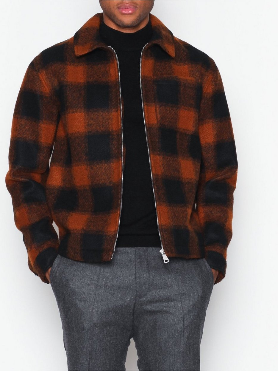 Check Harrington Jacket